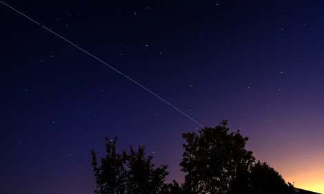 Space Station over Leeds