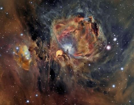 Orion in Oxygen by César Blanco González