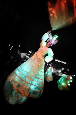 Light Walkers in Millennium Square