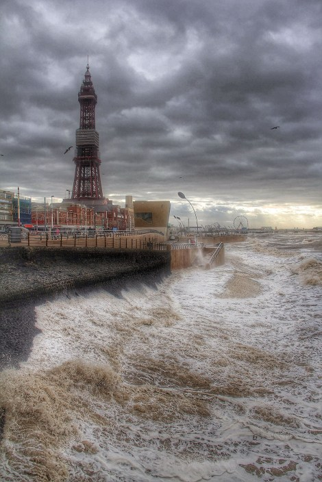 Stormy Weather in Blackpool
