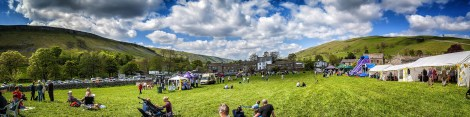 Panorama of Kettlewell Mayfest © Carl Milner 2015