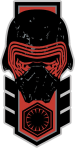 Star Wars The Force Awakens First Order and Resistance Stickers Decals Insignia_35