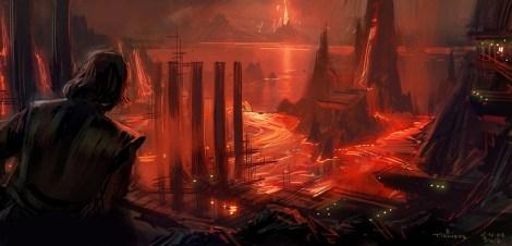 The Art of Revenge of the Sith by Erik Tiemens