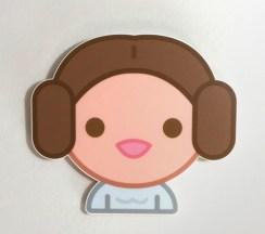 100% Soft Princess Leia Star Wars Art Awakens by Truck Torrence