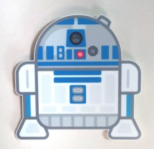 100% Soft R2D2 Star Wars Art Awakens by Truck Torrence