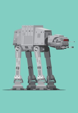 Mondo Art of the Vehicles from the Star Wars Original Trilogy by Scott Park Detail (5)