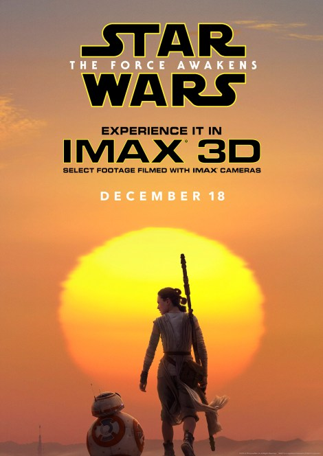 The Star Wars Force Awakens IMAX Poster 2 Hi Res