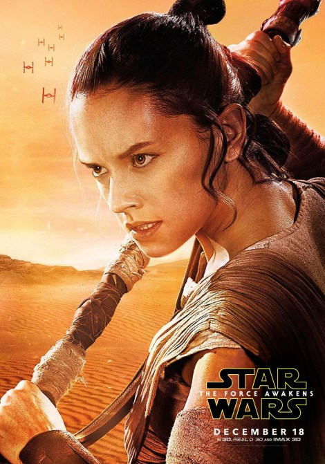 New Star Wars The Force Awakens Promotional Posters and Images _ Rey