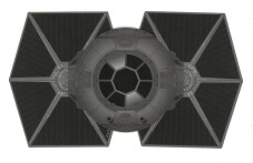 The Galactic Driving Licence Tie Fighter Front Compare The Market