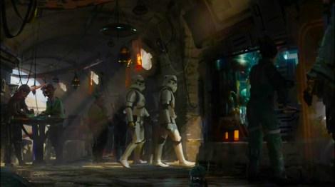 Disneyland 60 Star Wars Land New Concept Art Hi Res MilnersBlog - Cantina Restaurant