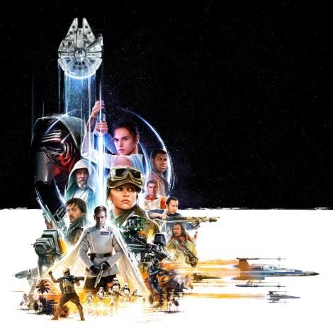 Star Wars Celebration 2016 Key Artwork Poster Hi Res