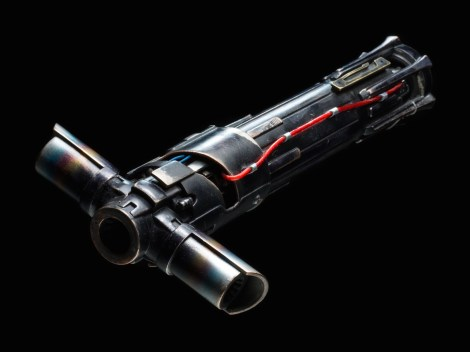 Star Wars The Force Awakens Weapon Replicas by Propshop Kylo Ren Lightsaber Hilt Hi-Res