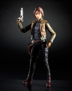 1st Rogue One Action Figure Revealed Jyn Erso Hasbro Black Series 3
