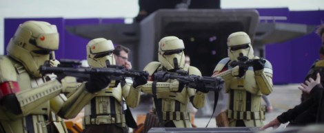 ShoreTroppers Rogue One A Star Wars Story New Characters in Hi-Res HD Production Image