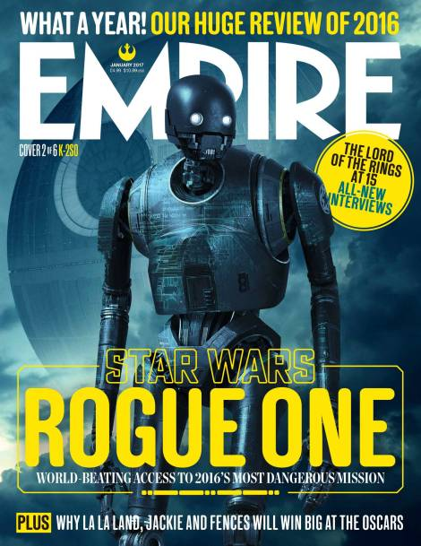 K-2SO New Rogue One A Star Wars Story Empire Magazine Covers HD Hi-Res _2