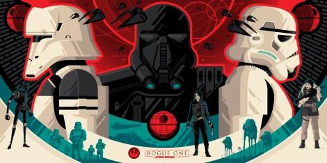 IMAX Regal Rogue One Collectors Ticket Poster HD Hi Res Star Wars HD Hi Res