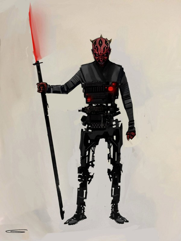 Reimagining Darth Maul Solo Star Wars Story