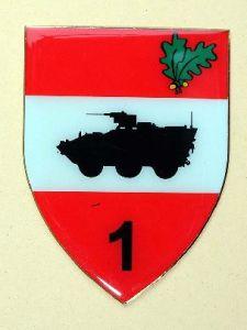 Verbandsabzeichen der 1. Jägerbrigade