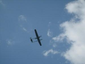 Abb. 5: ... im Landeanflug.