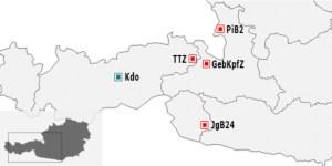 Abb. 2: Das Kommando Gebirgskampf (ehemals 6. Jägerbrigade).