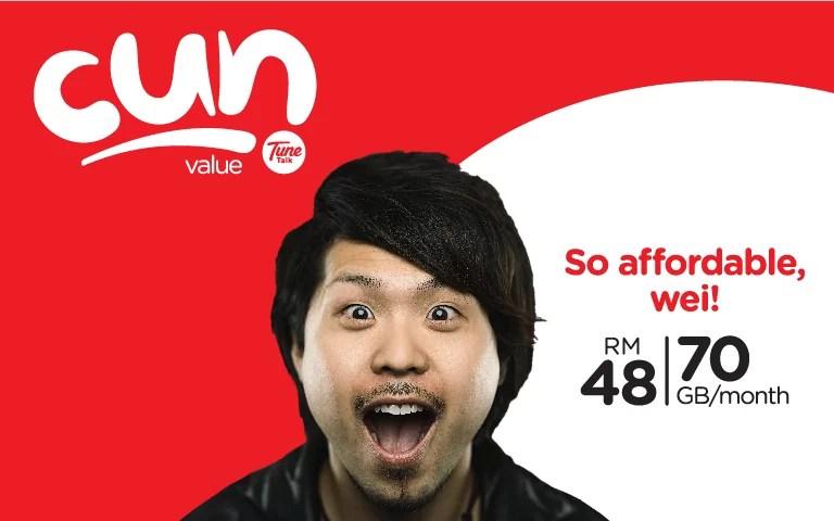 Tune Talk新配套Cun Value Pack | Milo Kosong | 米咯空