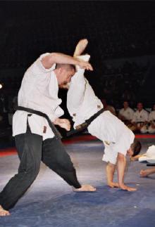 Katawaguruma throw