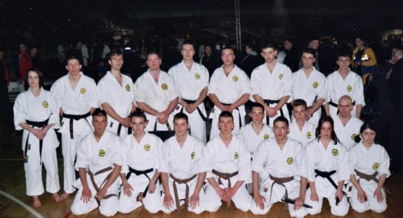 Traditional karate World Championship opening.
