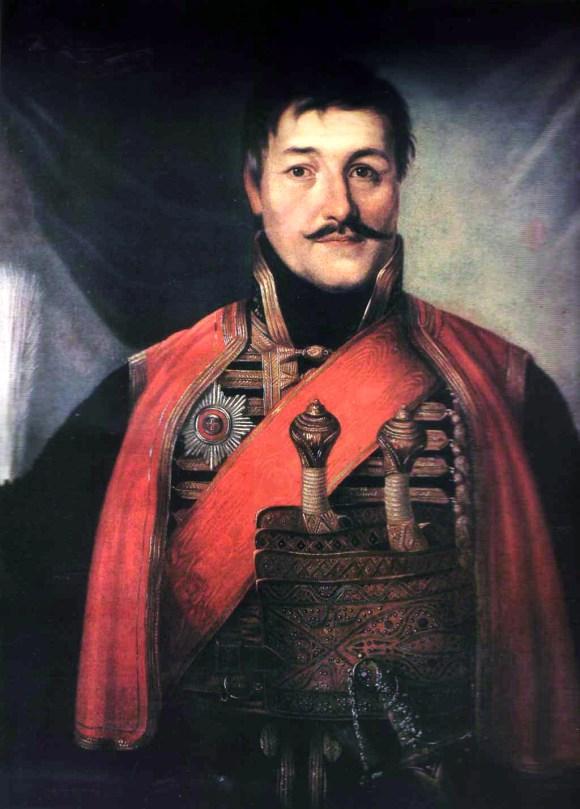 Karađorđe Petrović by Vladimir Borovikovsky 1816