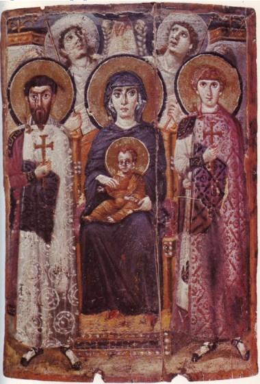 najstariji prikaz Bogorodice manastir sveta Katarina
