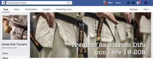 FB page of tsunami dojo
