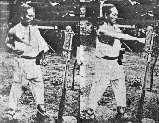 makiwara-karate-funakoshi-sensei