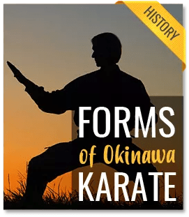 forms of okinawa karate