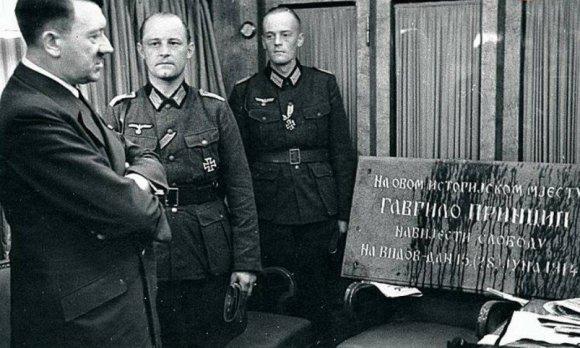 Hitler i ploča Gavrila Principa