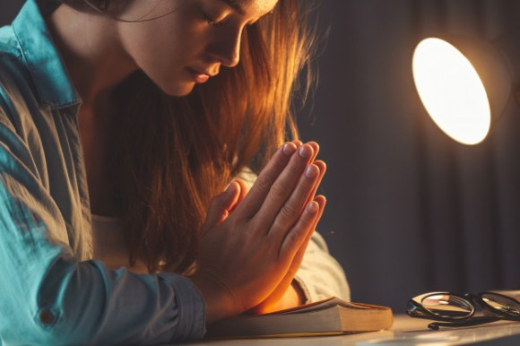 religion woman praying with bible evening home turn god ask forgiveness believe goodness christian life faith god 122732 1096