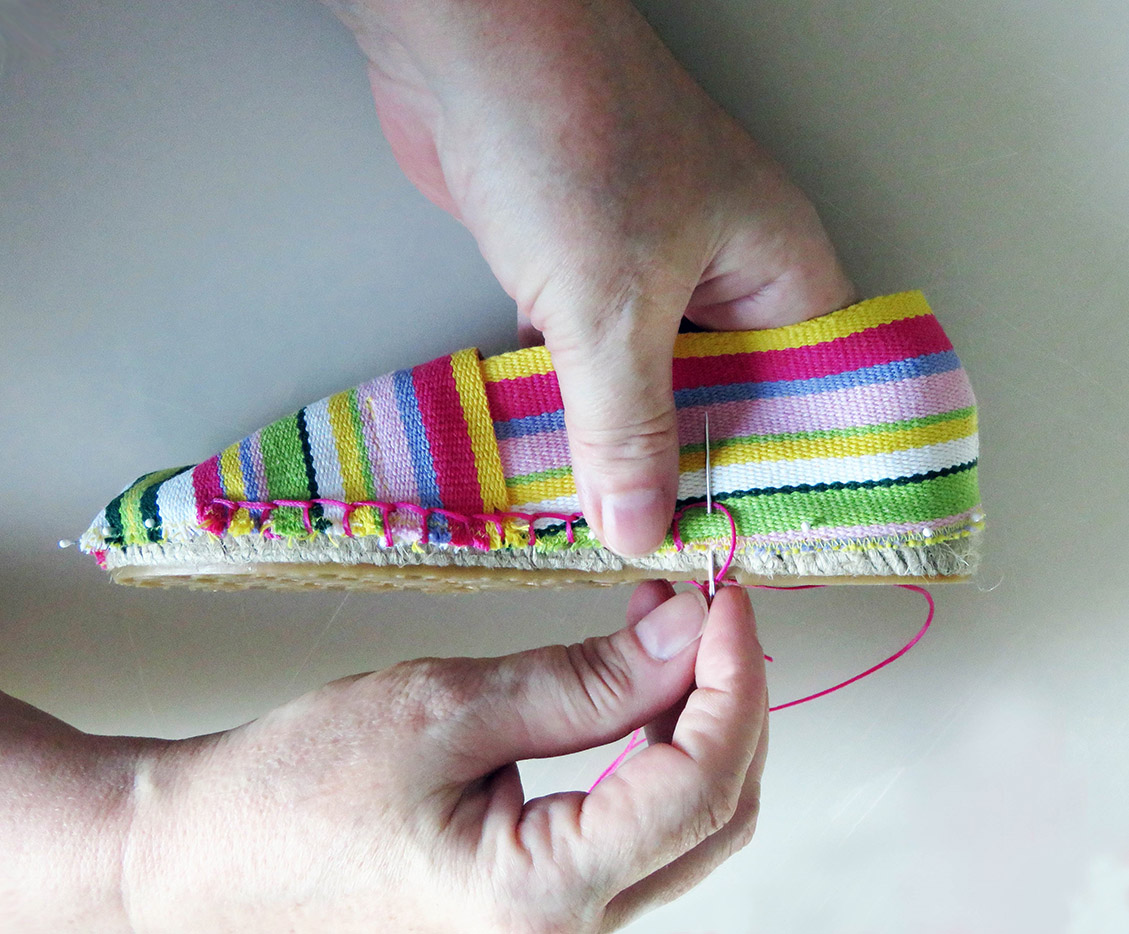 Make Your Own Espadrilles
