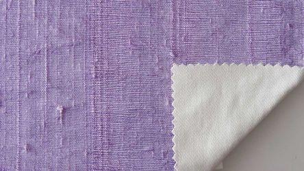 Μετάξι Dupioni Lilac