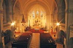 Unutrašnjost Crkve Srce Isusovo