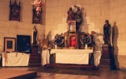 Sačuvan oltar iz stare crkve
