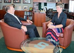 Dani Gimm Talks with Tom Izzo