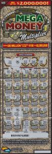 $2 million winning Mega Money Multiplier ticket.