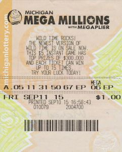 Michael Hicks won $1 million after buying this Mega Millions ticket.