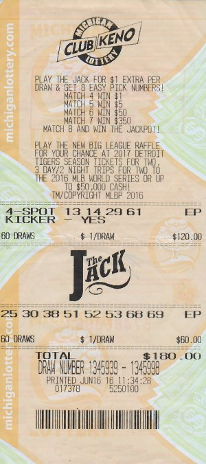 06.20.16 CK The Jack $240,814 Draw 6.16.16 Anonymous Oakland County