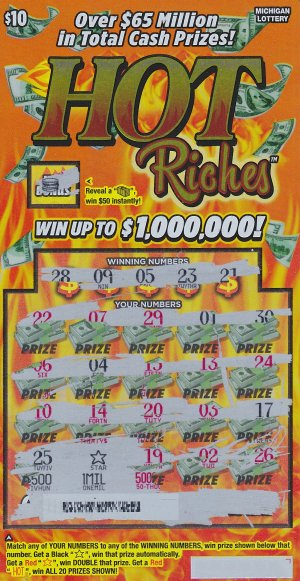08.31.16 Hot Riches IG 756 $1M Anonymous Wayne County