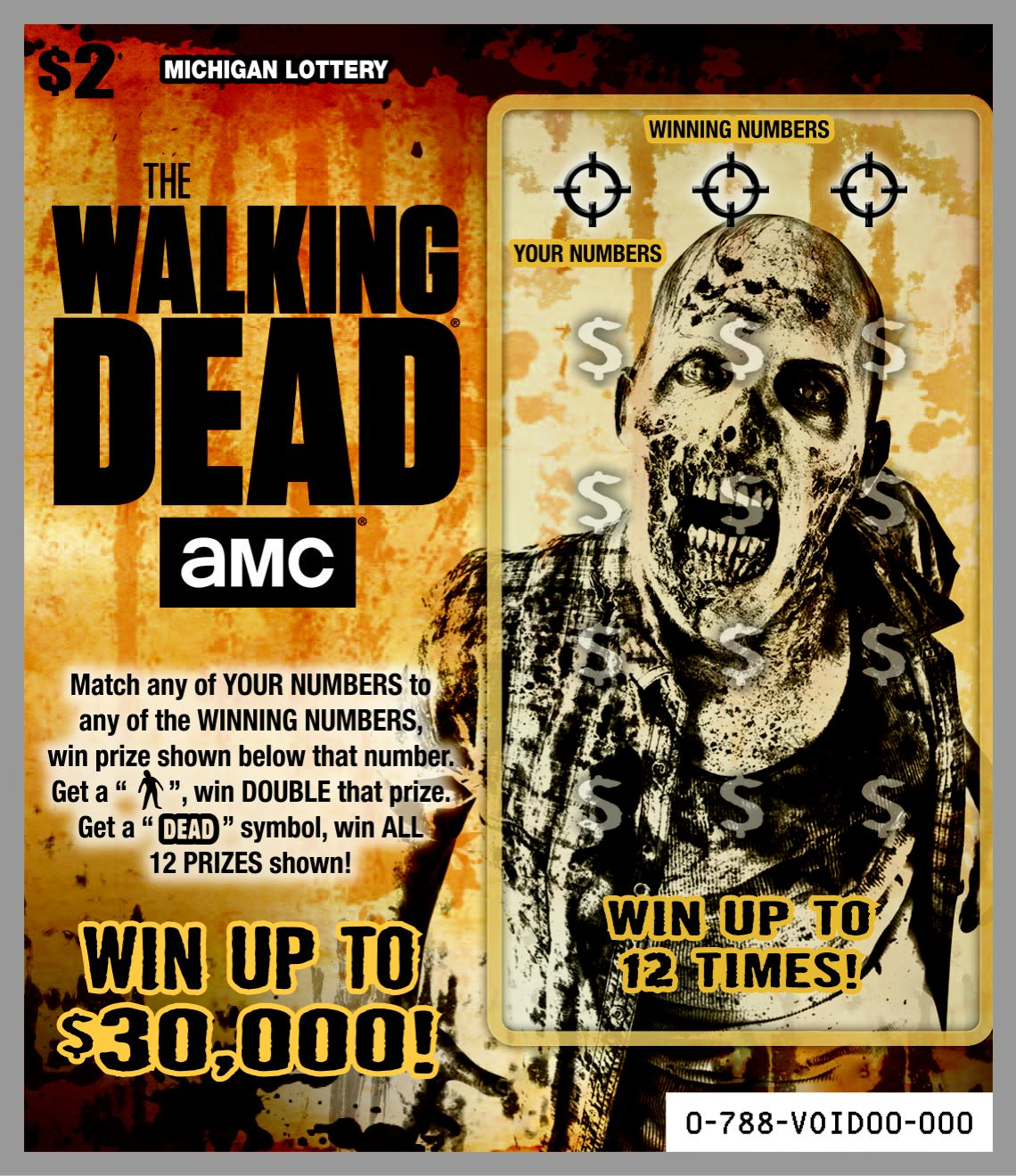 add zombies and the chance to win up to $30,000 to your halloween