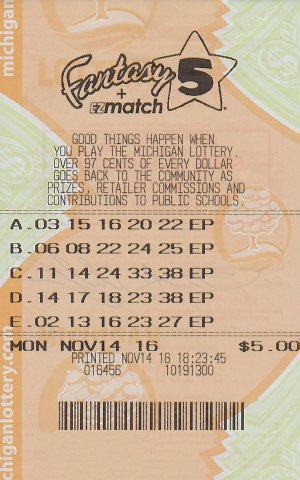 Heald's winning ticket.