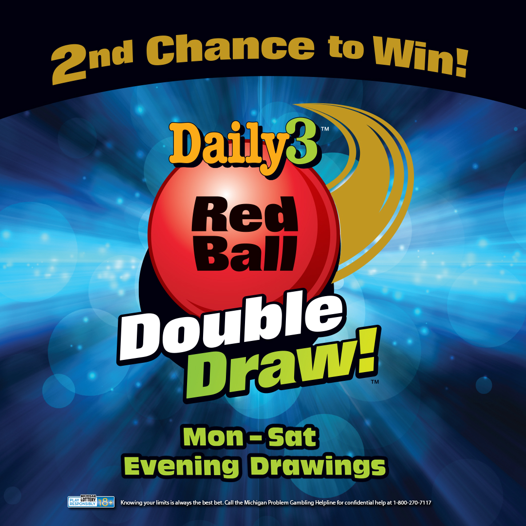 Red Ball Double Draw Gives Daily 3 Players Extra Chances to Win