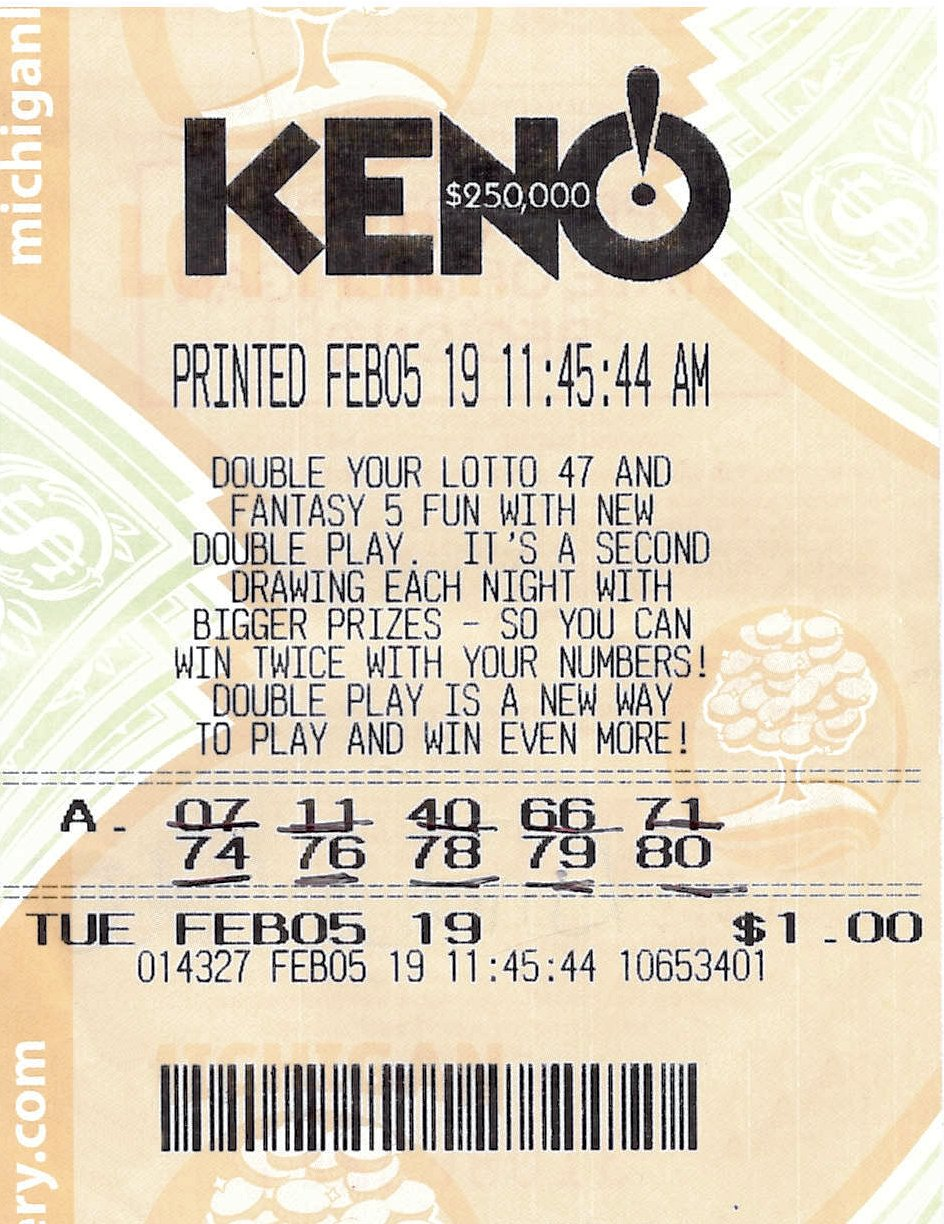 Lansing Woman Wins $250,000 KENO! Prize from the Michigan Lottery