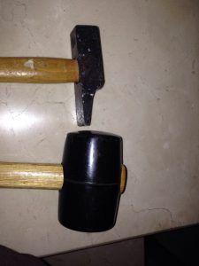 martillo VS maza