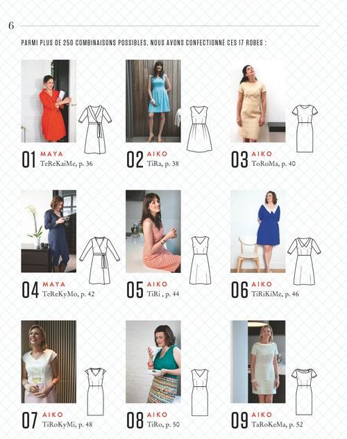 200 robes à partir de 20 patrons | Touslespatrons