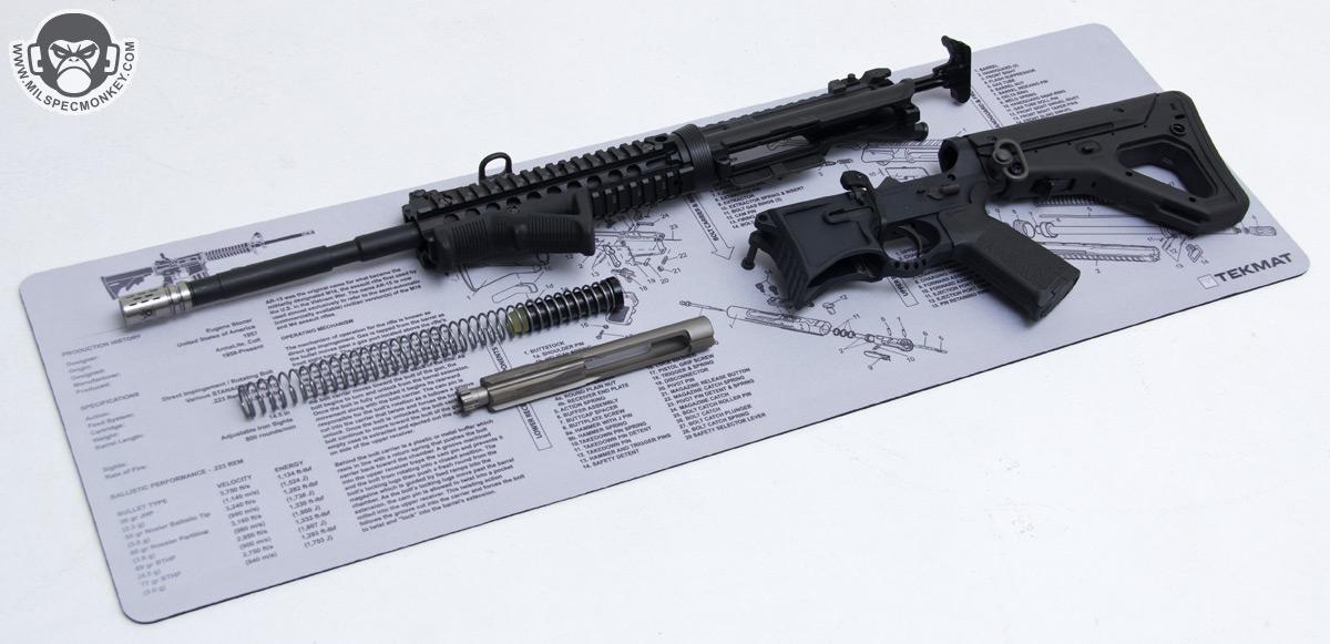 Parts Diagram Table Tekmat Firearm Mats